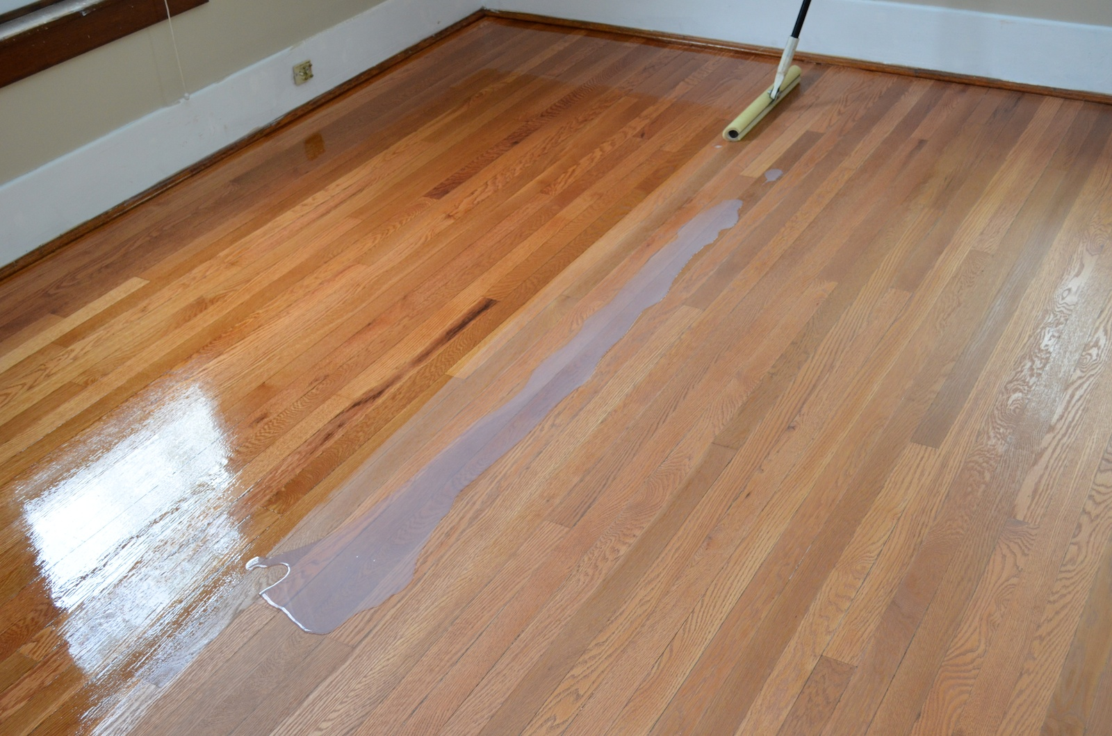 Finishing the floors this old ithaca house for Floor finishes