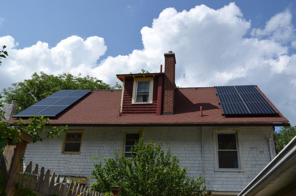 Solar Install Day 4 4